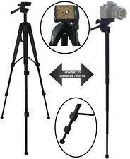 "68"" Convertible Tripod/Monopod For Panasonic Lumix DMC-FZ47 HDC-Z10000"