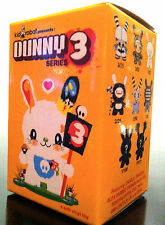 """DUNNY 3"""" SERIES 3 BLIND BOX SEALED KIDROBOT COLLECTIBLE NEW DESIGNER TOY FIGURE"""