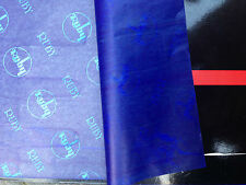 25 X A3 CARBON PAPER SHEETS HAND COPY     - RUBY-   BLUE