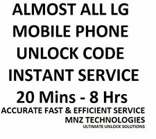 LG Unlock Code LG B460 Cricket Chat C555 C800 T Mobile E979 AT&T & Other Models