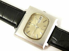 Vintage Sekio 5 Automatic Retro Square Dialed Wrist Watch with Day Date LAYBY AV