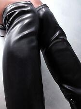 NEU Hohe Overknee Stiefel Stretch Damen Sexy High Heels Boots Y48 Schuhe Schwarz