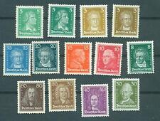 Deutsches Reich 1926 Nr. 385 - 397 postfrisch ** MNH Katalog 1100,00 €