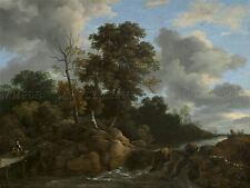 JACOB VAN RUISDAEL DUTCH LANDSCAPE OLD ART PAINTING POSTER PRINT BB5736A