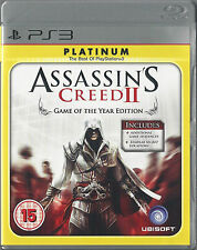 PLAYSTATION 3 ps3 Assassin's Creed II GOTY