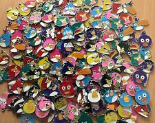 10 X random Angry Birds Metal Enamel Charms Pendants mixed brand new
