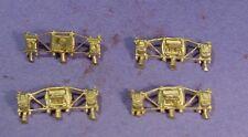 HO/HOn3 BRASS WISEMAN BACK SHOP HBS140 ARCH BAR TENDER TRUCK SIDEFRAMES