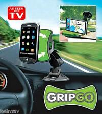 The GripGo Universal Car Hands Free Phone Mount As Seen on TV Grip Go