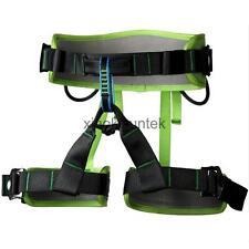 Rock Climbing Mountaineering Rappel Harness Safety Sit Bust Waist Belt Gear