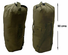 NEW US ARMY STYLE Duffle Bag - Olive Green