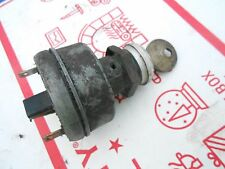 1980 Skidoo 9500 Blizzard Plus parts: KEYED IGNITION SWITCH- 4 prong