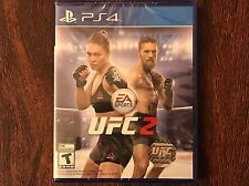 UFC 2 (Sony PlayStation 4, 2016) PS4 Brand New! Factory Sealed! Free Shipping!