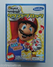 Super Mario Bros. Cube Block Sound Figure Supermario Nintendo Subarudo 2006 # 1