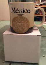 STARBUCKS GLOBAL ICON COLLECTOR CITY SERIES MEXICO COFFEE TEA MUG CUP NEW IN BOX