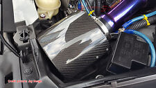 RARE UNIVERSAL REAL CARBON FIBER AIR INTAKE FILTER BREATHER COVER 350Z RX-7 JDM