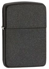 Zippo 28582, 1941 Replica, Black Crackle Finish Lighter, Full Size