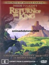 INSIDE TOLKIEN'S Lord of the Rings RETURN KING - Middle Earth SECRETS DVD NEW