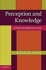 Perception and Knowledge : A Phenomenological Account by Walter Hopp (2013,...
