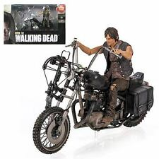 Walking Dead Daryl Dixon Action Figure and Motorcycle Deluxe Box Set AMC