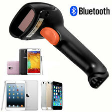 Bluethtooth 1D Laser Barcode POS Reader Scanner+NEW USB Cable for iPhone Android
