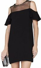 "BCBG NWT ""Candace"" Black Party Dress New 4  LMQ65A74"