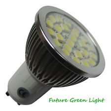 GU10 24 SMD LED 240V 350LM 4.3W WARM WHITE BULB ~50W