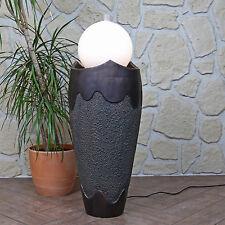 Zimmerbrunnen Feng Shui Kugel mit Beleuchtung Zimmerspringbrunnen für Innen matt
