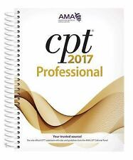 CPT 2017 Professional Edition by American Medical Association (2016, Spiral)
