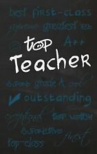 Statement: Top Teacher : Gifts for Teachers / Teachers Notebook / Present by...