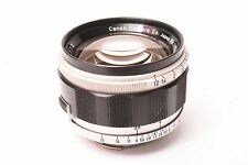 Canon lens 50mm f/1.2-50mm Screw mount M39 with adapter ring for leica M2-M3.