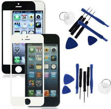 Front Outer Screen Lens Glass Replacement Tool Black White For iPhone 5 5C 5S IN