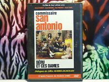 DVD d'occasion excellent état - Film : COMMISSAIRE SAN ANTONIO BERU ET CES DAMES