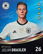 REWE DFB EM 2016 Sammelkarte Basiskarte Nr. 26 - Julian Draxler