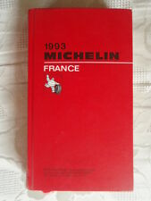 GUIDE MICHELIN FRANCE 1993