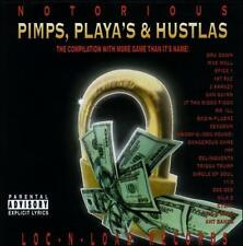 Various: Notorious:Pimps Playas & Hustlas  Audio Cassette