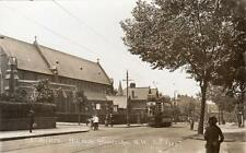 Hillside Stonebridge Tram Harlesden Nr Willesden unused RP old pc
