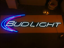 Bud Light Beer Iconic 6' LED Opti Neon (2)- Rare - New - F/S - Two Pack (X2)
