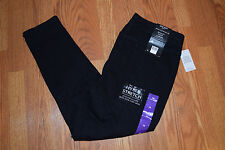 NWT Womens NINE WEST JEANS Black Skinny UpLifter Pull-on Jeans Sz 16