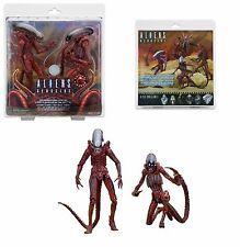 NECA ALIENS GENOCIDE XENOMORPH BIG CHAP & DOG ALIEN CONCEPT ACTION FIGURE 2 PACK