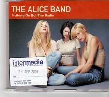 (FM658) The Alice Band, Nothing On But The Radio - 2001 DJ CD