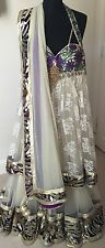 Stunning Designer Indian Bollywood Anarkali - Actual Pics. Discounted For Bank H