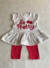 Baby Girls Clothes Newborn - Cute Outfit  - Tunic Top & Leggings
