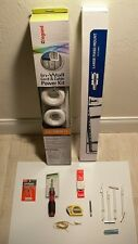 Complete Tv Installation Package Large Flat Mount Legrand Power Kit Install Tool