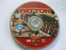 PATTON starring George C Scott (Disc 1 - feature film) - DISC ONLY  {DVD}