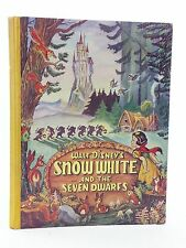 WALT DISNEY'S SNOW WHITE AND THE SEVEN DWARFS - Disney, Walt. Illus. by Disney,