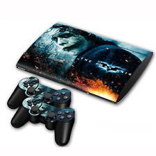 Skin Sticker Cover For PS3 PlayStation Slim 4000+2 Controllers Vinyl Decal #82