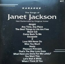 BACKSTAGE KARAOKE 8217 JANET JACKSON CD+G SEALED on sale