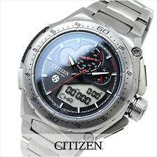 NEW LTD EDT TOYOTA 86 CITIZEN ECO DRIVE TITANIUM ALARM CHRONOGRAPH JW0100-51E