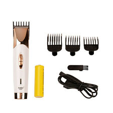 Electric Hair Clipper Shaver Razor AA Battery Powered Hair Trimmer Beard Cutter