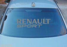 RENAULT SPORT GRAND VITRE ARRIÈRE AUTOCOLLANT GRAPHIQUE 580mm x 145mm